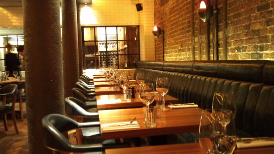Hawksmoor Seven Dials: The dining room
