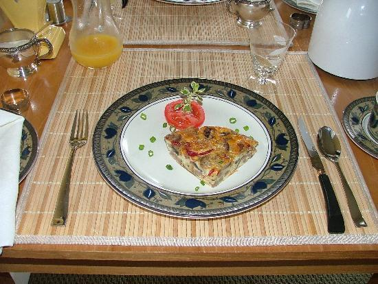 The Yellow House Victoria Bed and Breakfast : Déjeuner du 2ème jour
