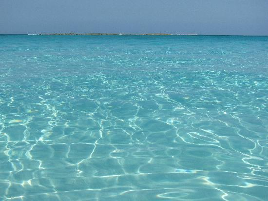 Governor's Harbour, Eleuthera: Crystal clear water