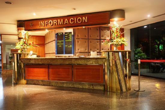 Hotel Venetur Alba Caracas: Concierge