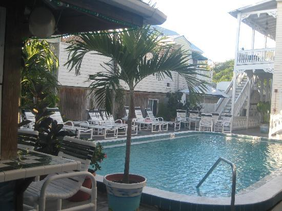 The Palms Hotel- Key West: The pool in the morning