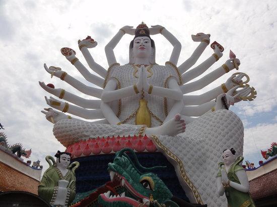 Koh Samui, Tailandia: 18 arms Buddah