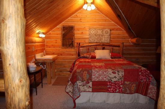 Grand Tetons - Old Mill Log Cabins, Wyoming  Old Log Cabins Wyoming