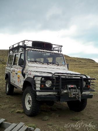 Calafate Extremo: Our trusty transport