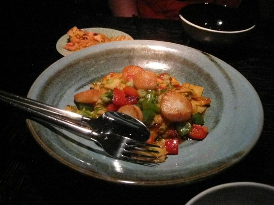 Spice Temple: Scallops- delicious!!