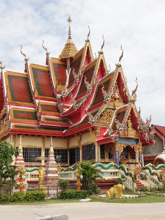 Koh Samui, Tailandia: Wat Plai Laem