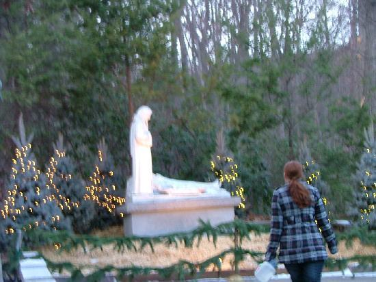 National Shrine Grotto of Lourdes: Christmas at The Grotto