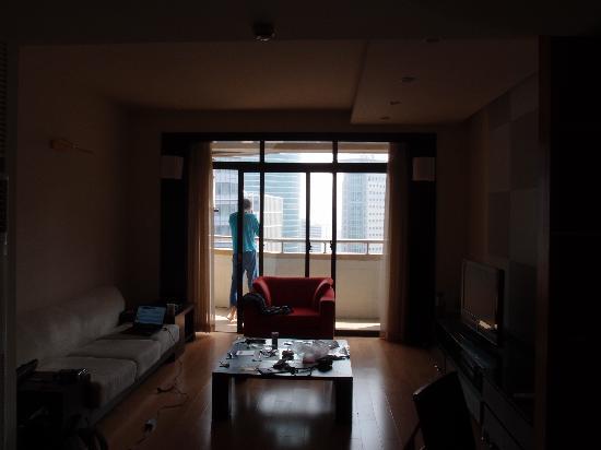 Jia Nian CEO Serviced Residence: Living room