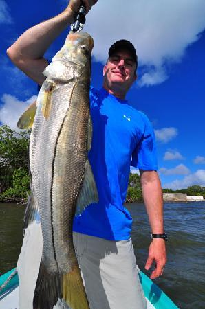 Belize River Lodge: Snook
