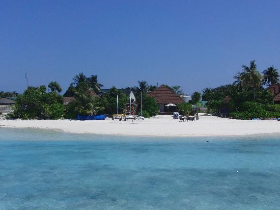 Robinson Club Maldives: Blick auf die Insel