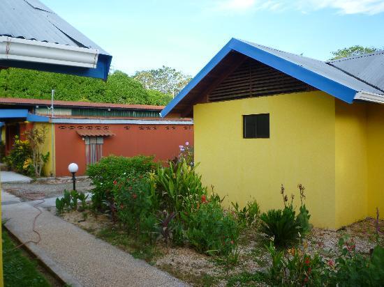 Iguanas & Congos Inn: garden