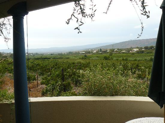 Calitzdorp Country House: view from private terrace