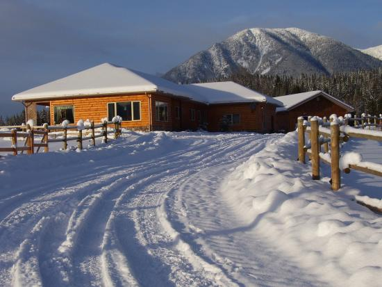 Brouse Creek B&B: Winter wonder land