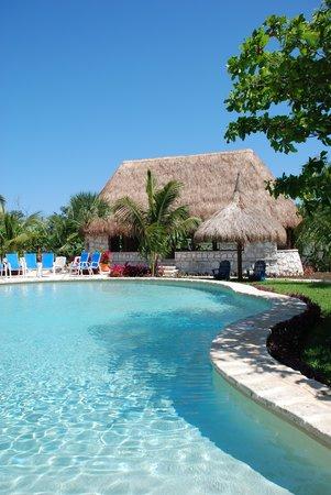 Amarte Hotel: Pool and yoga pavilion