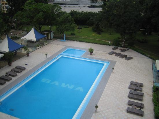 Hôtel SAWA : piscine de l hotel sawa