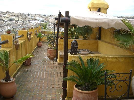 Riad Le Calife : terrasse