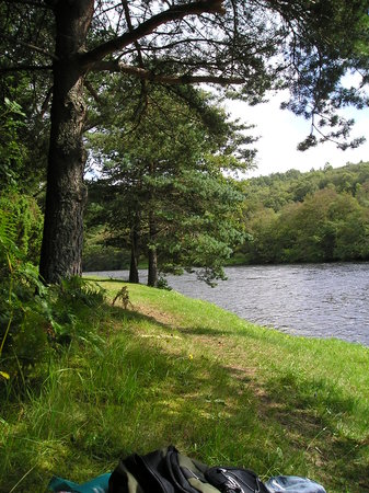 Grantown-on-Spey, UK: Anagach Woods at the Spey