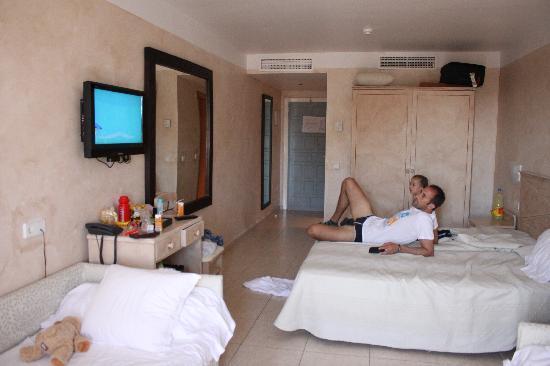 Hotel Club Bahamas Ibiza: Unser Zimmer