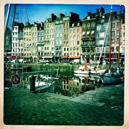 Honfleur, Frankrike: vieux port