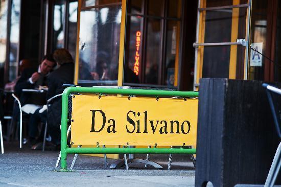 Da Silvano : Entrance