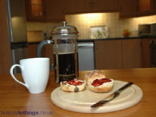Millstone Cottages : A nice cup of tea