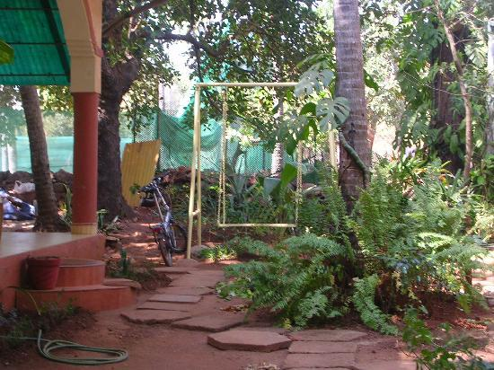 Anjunapalms Guesthouse: garden
