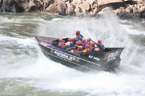 Regal Tours and Safaris Day Tours: ride the grade 5 rapids