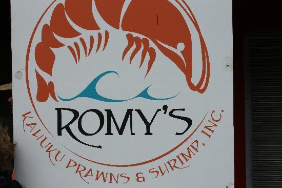 Romy s kahuku prawns