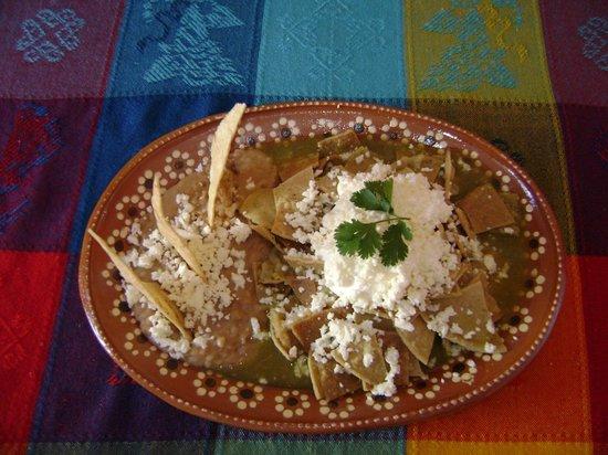 El Rinconcito : Chilaquiles