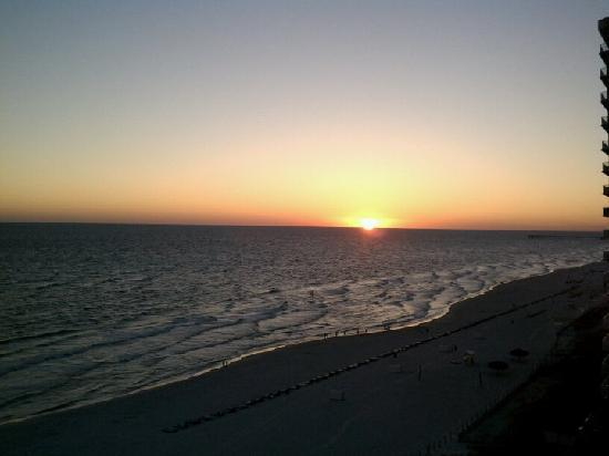 Ocean Villa Condos: Sunsets don't get much better than this!