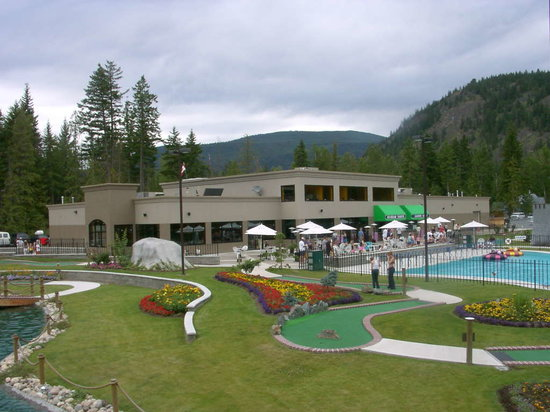 Scotch Creek, Canada: Mini Golf