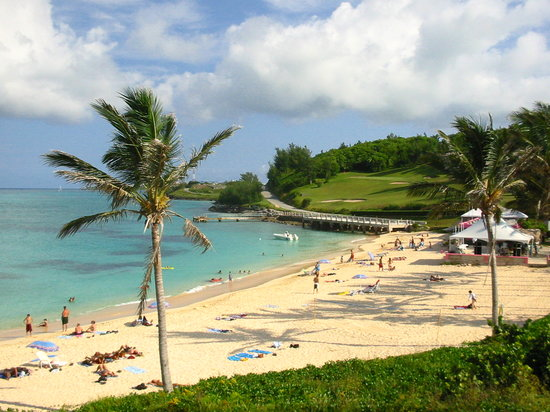 St. George's Parish, Bermuda: St Catherine's Beach