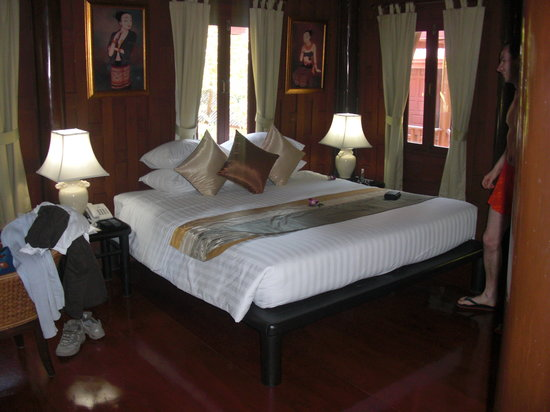 Baan Amphawa Resort & Spa: la chambre