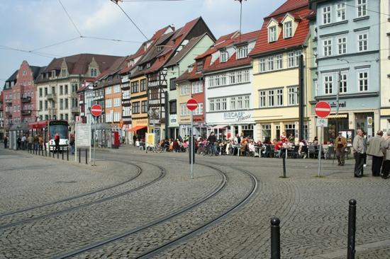 domplatz erfurt picture of erfurt thuringia tripadvisor. Black Bedroom Furniture Sets. Home Design Ideas