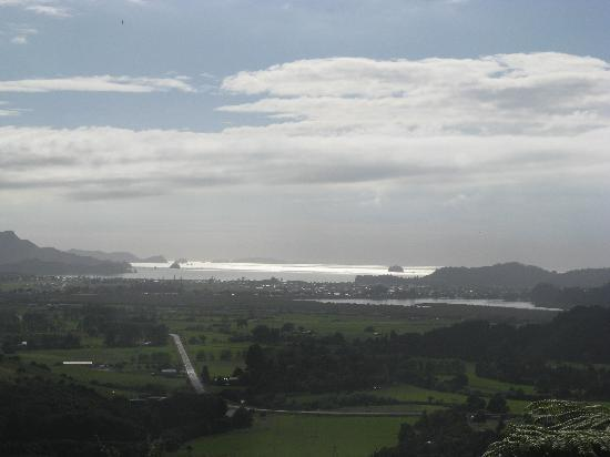 Whitianga, New Zealand: Part Of The View From The Top