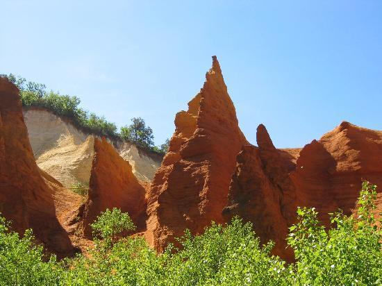 Sentoline, Ecotourisme en Provence Day Tours : Colorado provencal