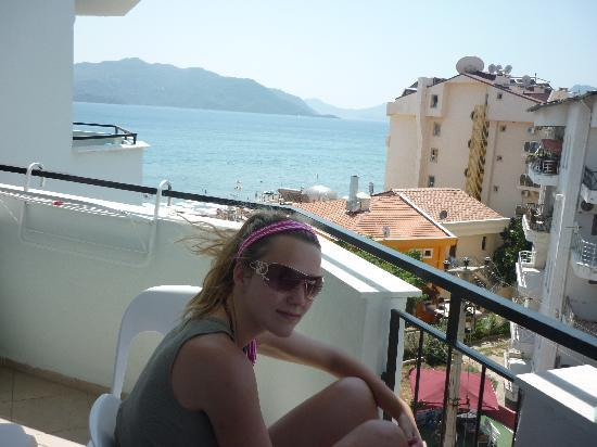 Tekin Apartments: The view from our balcony