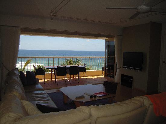 Costa Nova Holiday Apartments: View from lounge