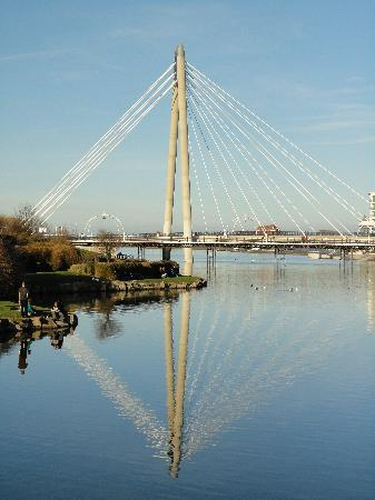 Σάουθπορτ, UK: Southport bridge