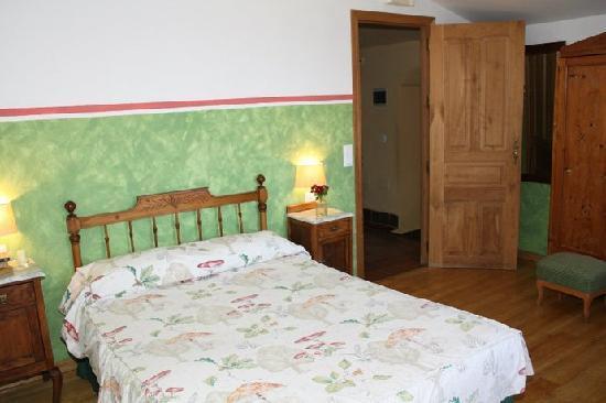 Finca de la Silladilla: dormitorio