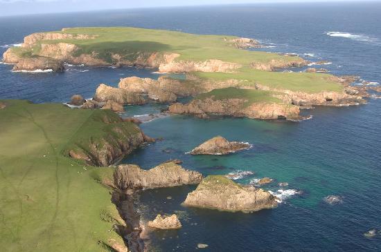 Bressay shetland islands
