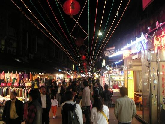 Linjiang Street (Tonghua) Night Market: Nightmarket