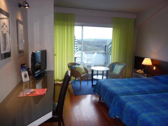 Hotel l'Ermitage : Chambre avec terrasse Hôtel l'Ermitage Le Puy en Velay
