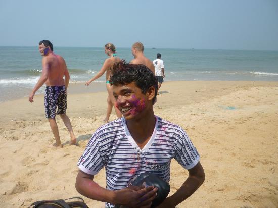 Red Lobster: Nicky beach seller.