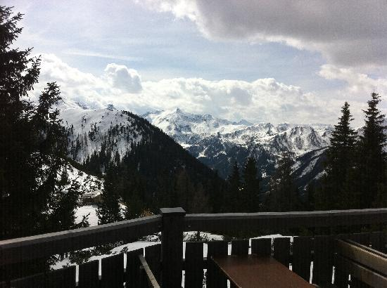 Pension Hoffelner: Our favourite spot on the mountains!