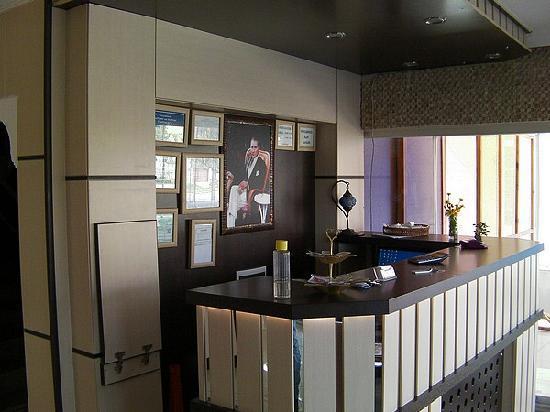 Tayfun Hotel: Reception