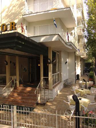 Hotel Excelsior Cervia/ingresso v.le Roma