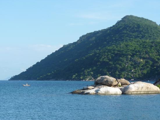 Chembe Eagles Nest: Domwe Island, vor der Haustür