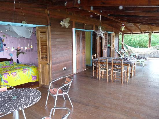 Villawellness St. Lucia : Die riesige Veranda