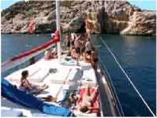 Olympos, Turkije: boat trip